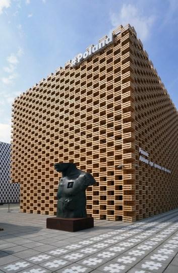 Il Grande Toscano, Павильон Польши, Экспо-2015