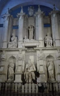 Микеланджело — Гробница папы Юлия II